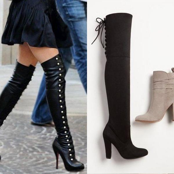 685a7049c6c Женските обувки с високи токчета са перфектните обувки за момичета, които  предпочитат изключително женския стил. А именно, молив поли, midi дължина  рокли и ...